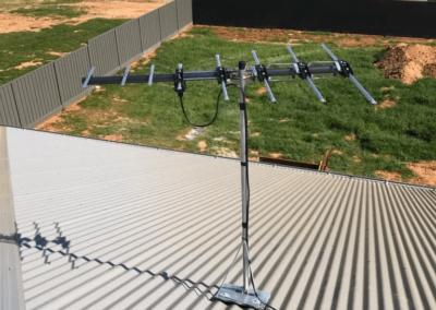 T&R Digital Antenna Installations - Antenna Installation Off White Closeup