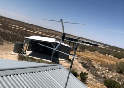 T&R Digital Antenna Installations - Antenna Installation Roof Close-up